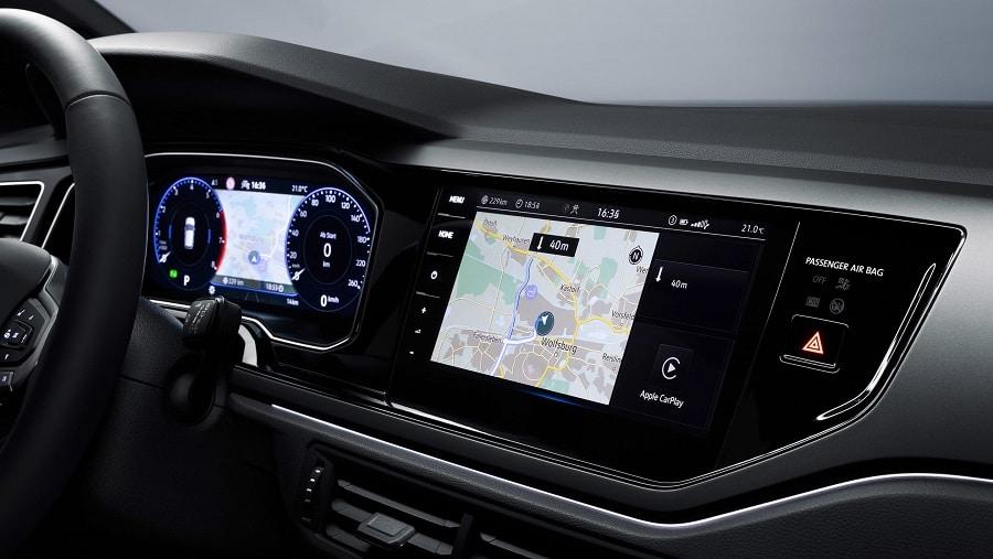 Volkswagen Polo 2021 infotainment1