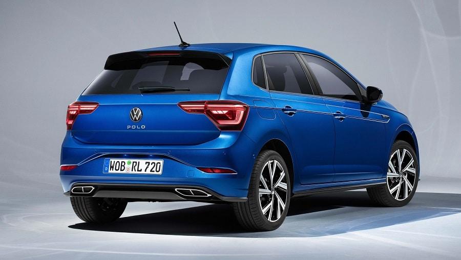 Volkswagen Polo 2021 posteriore
