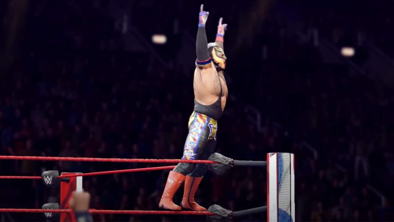 Annunciato WWE 2K22 insieme a un piccolo teaser thumbnail