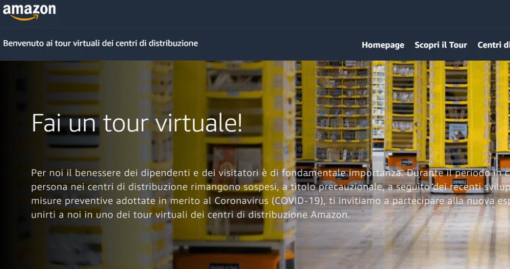 Amazon tour virtuale