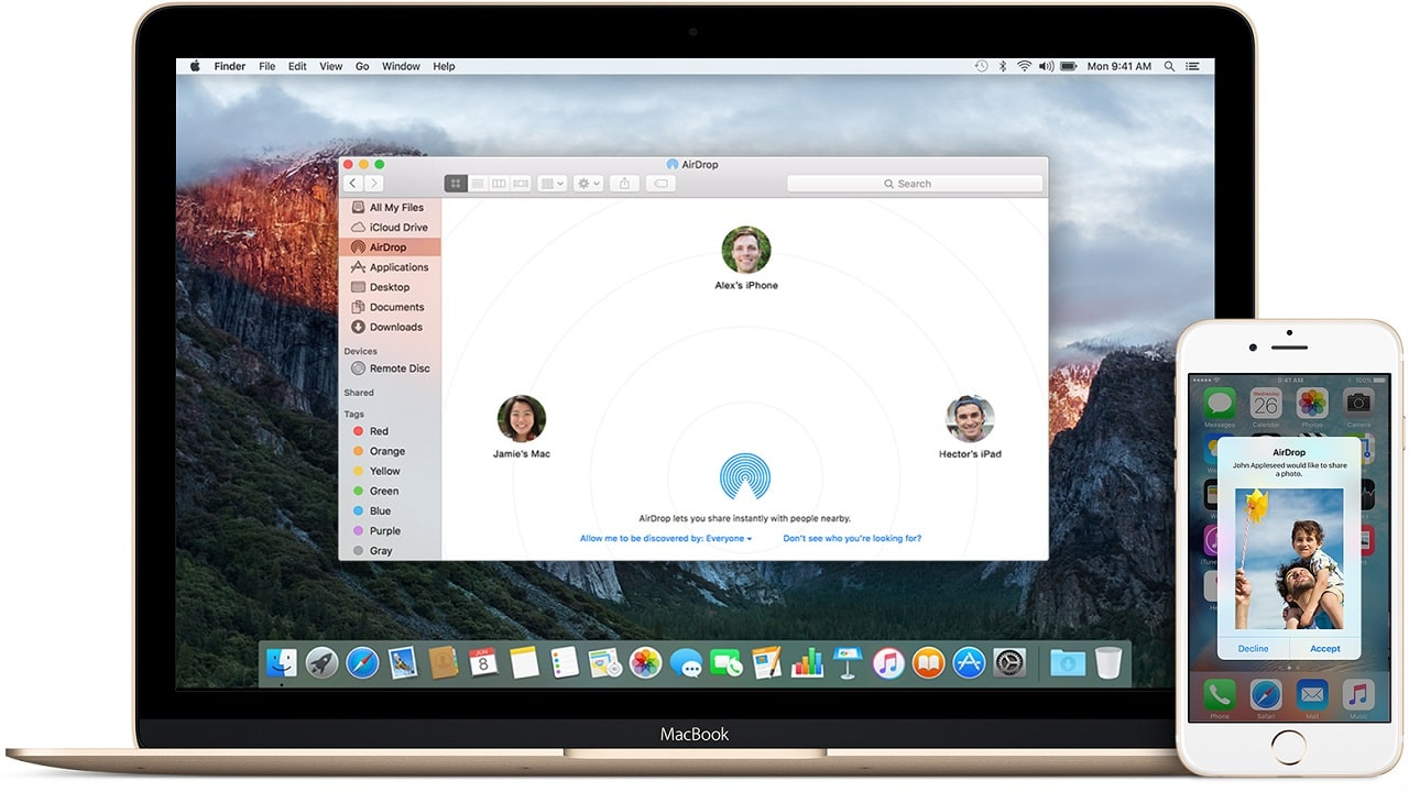 Apple AirDrop ha un problema di privacy thumbnail