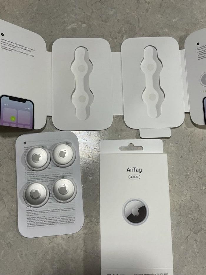 apple airtag preordine pacco da quattro-min