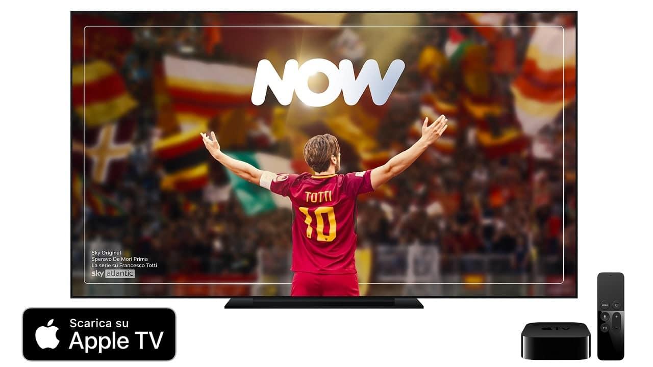 Lo streaming di NOW arriva su Apple TV thumbnail