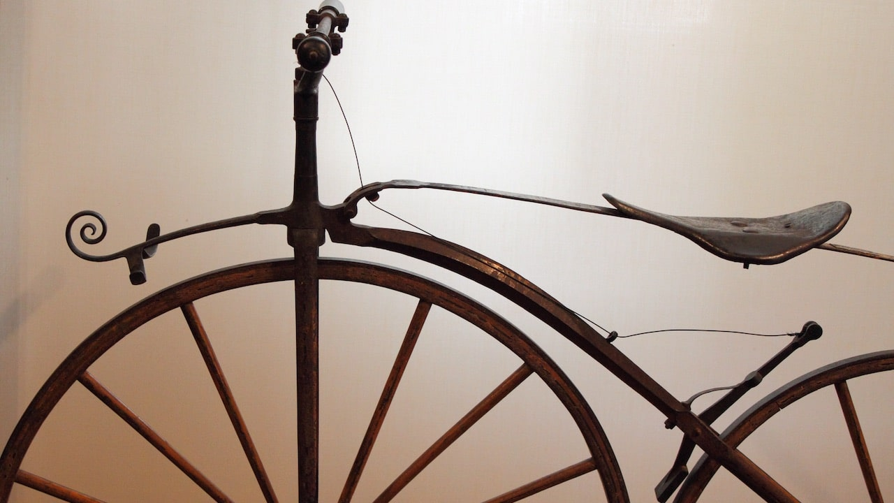 Come è cambiato: la bicicletta thumbnail