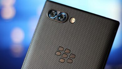 blackberry 5g smartphone con tastiera