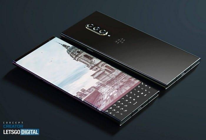 blackberry 5g smartphone con tastiera qwerty