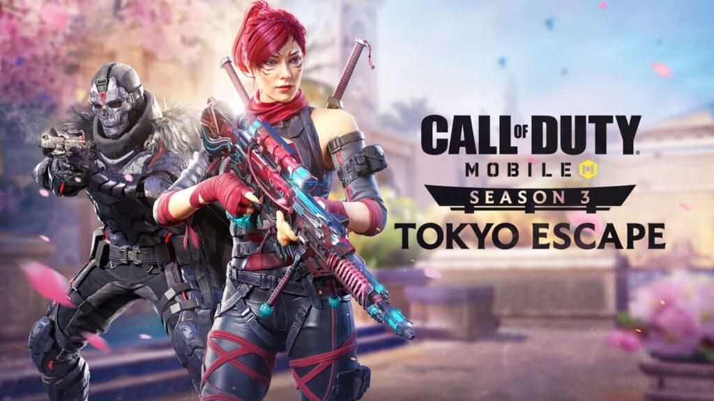 call of duty mobile tokyo escape