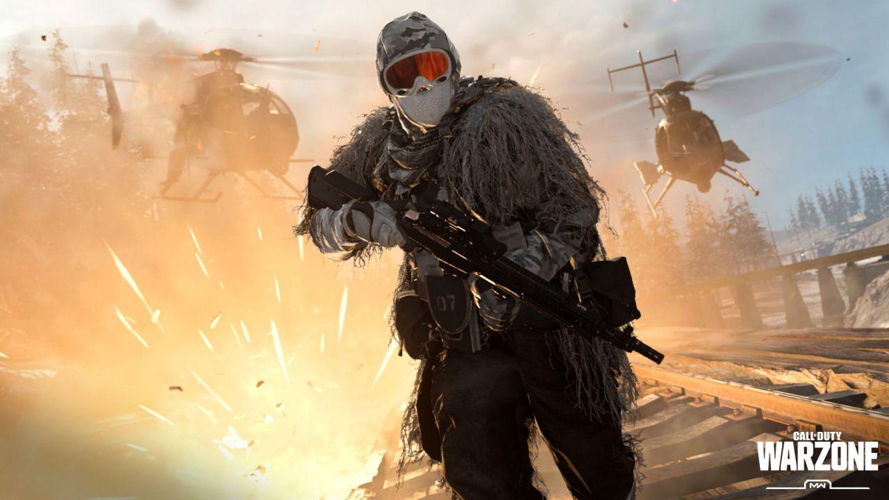 Call of Duty Warzone da record: il gioco raggiunge 100 milioni di giocatori attivi thumbnail
