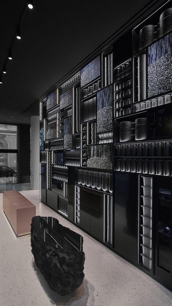 signature kitchen suite showroom milano