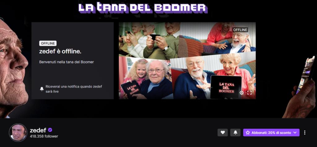 fedez tana del boomer