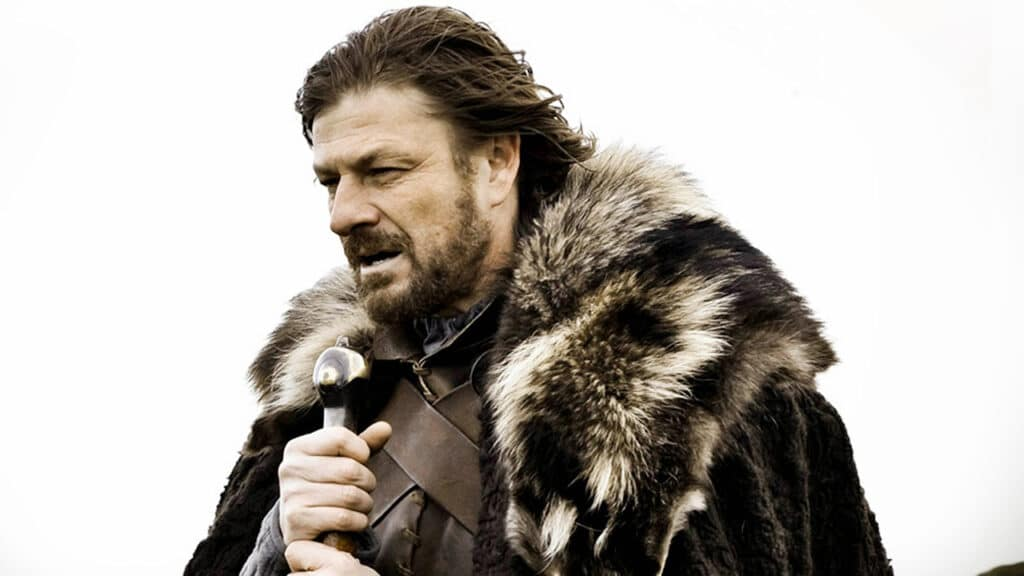 game of thrones anniversario ned stark winter is coming