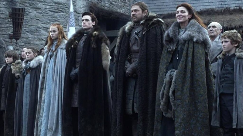 famiglia stark game of thrones