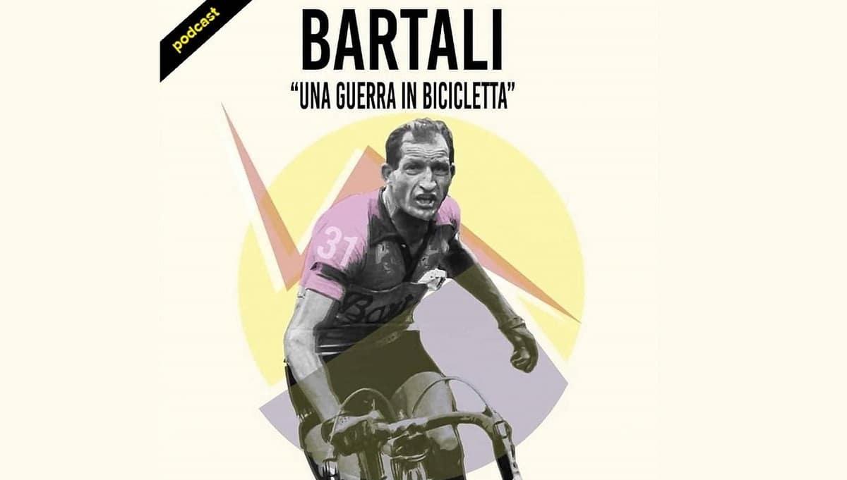 Disponibile il podcast Gino Bartali - Una guerra in bicicletta thumbnail