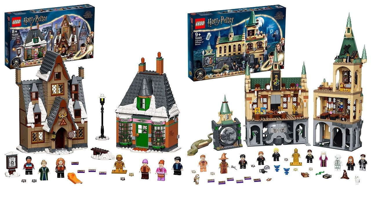 Due nuovi set LEGO dedicati a Harry Potter trapelano online thumbnail