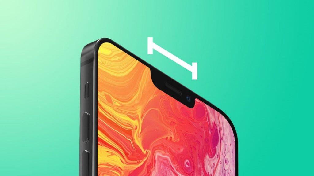 iPhone-13-design notch più piccolo
