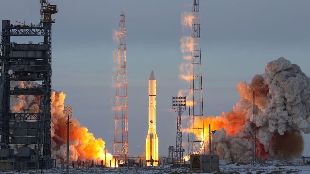 lancio da Bajkonur