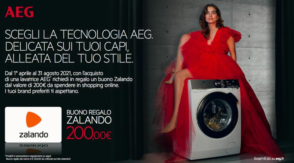 lavatrice AEG promozione