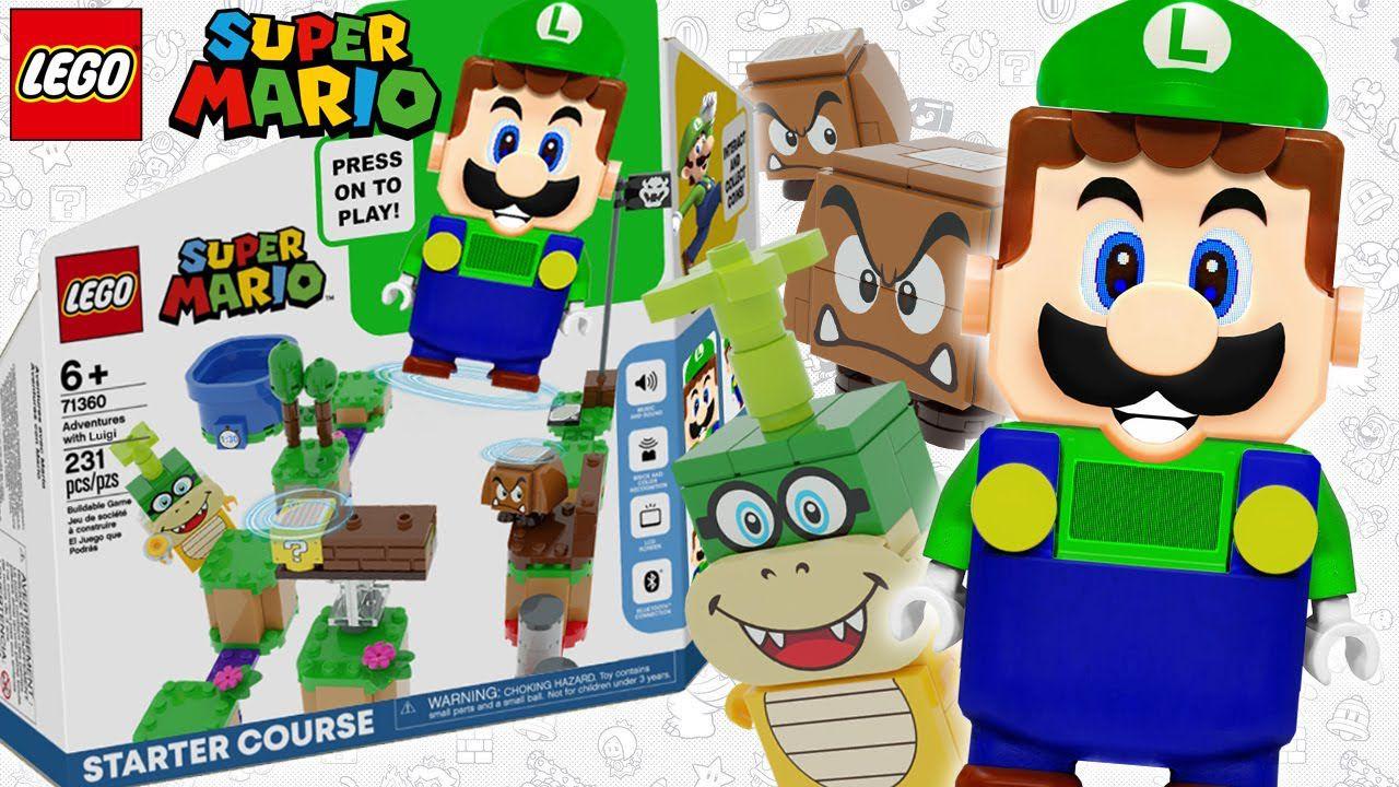 Appaiono in rete le prime immagini del Set LEGO di Super Mario con Luigi thumbnail