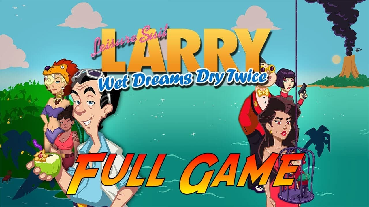 Leisure Suit Larry - Wet Dream Dry Twice sbarca su console thumbnail