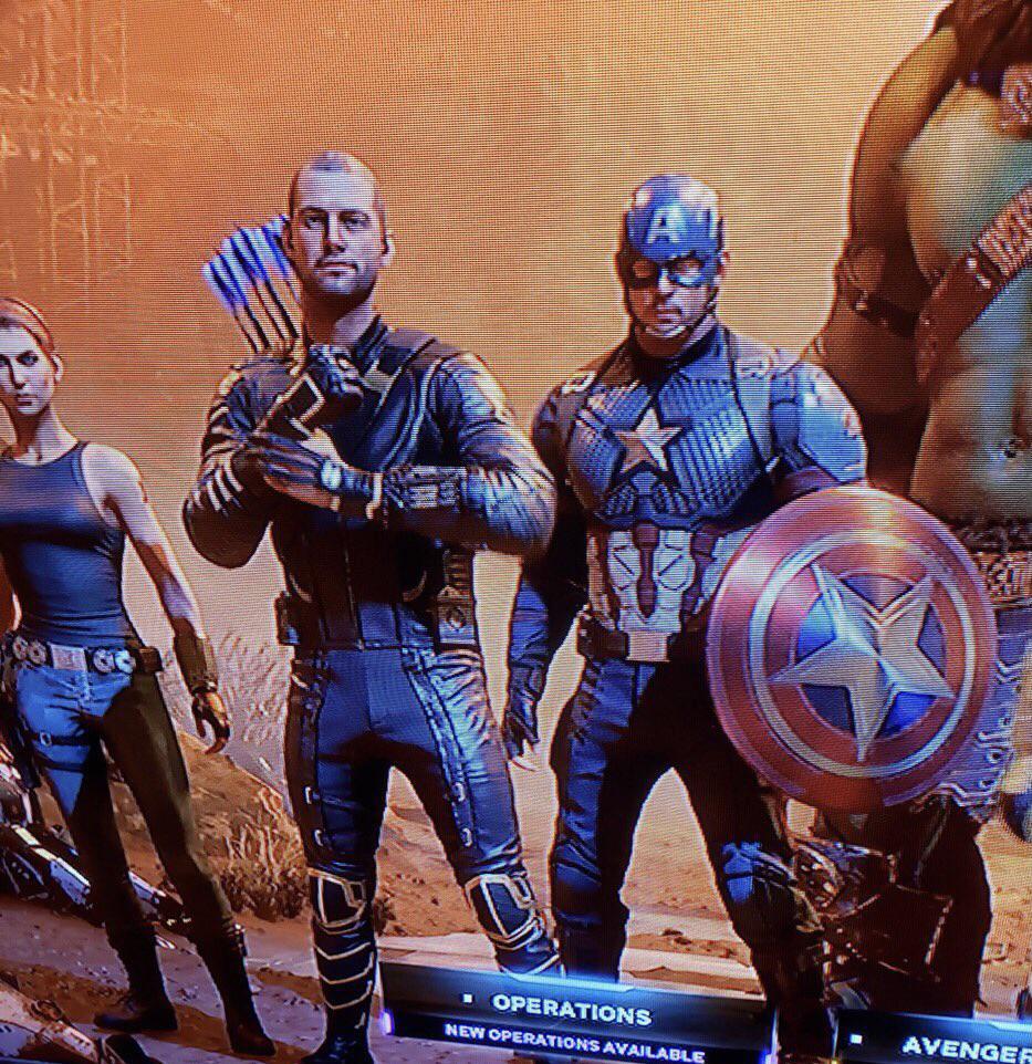 marvel's avengers skin mcu endgame