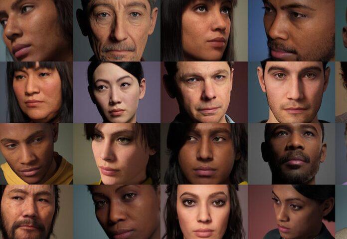 metahumans epic persone virtuali unreal engine-
