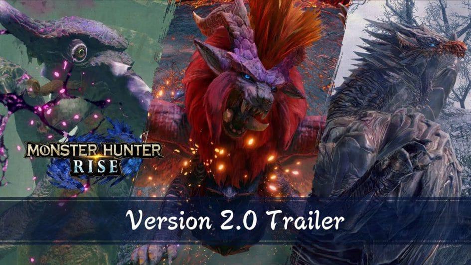 Monster Hunter Rise aggiornamento