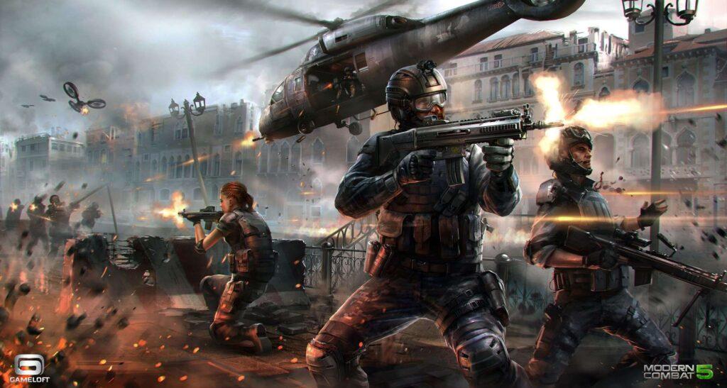 TimGames Modern Combat 5: Blackout