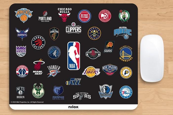 nilox NBA _mousepad-30-Black