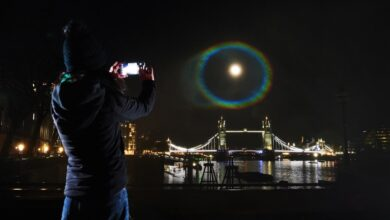 oneplus 9 fotografia moonbow