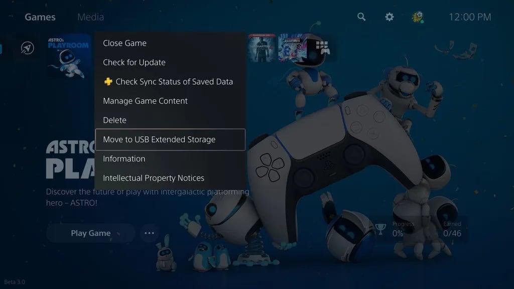 PlayStation 5 trasferire giochi su hard disk esterno