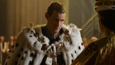 principe filippo the crown matt smith