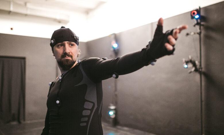 uomo motion capture project galileo