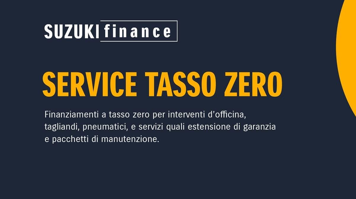 Suzuki lancia l'iniziativa Service Tasso Zero thumbnail