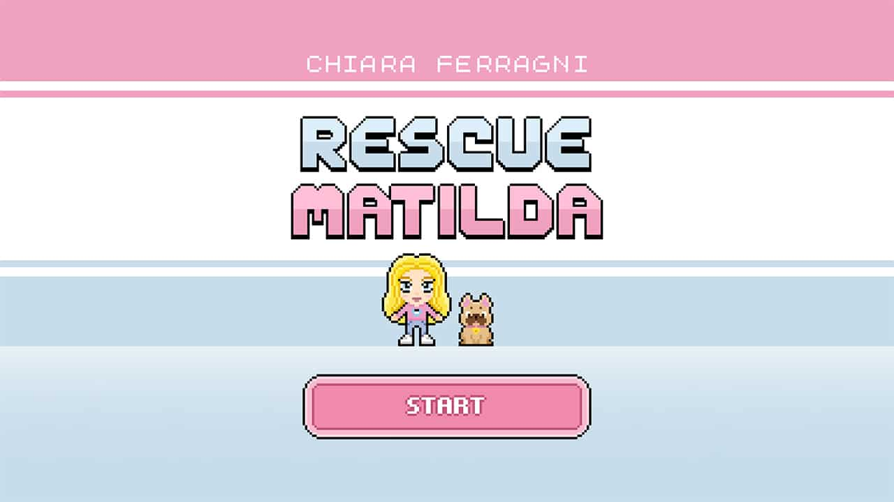 Rescue Matilda, il videogioco ufficiale di Chiara Ferragni thumbnail