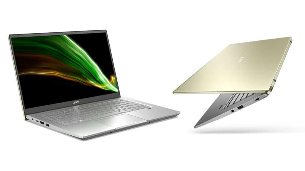 Acer Swift X caratteristiche