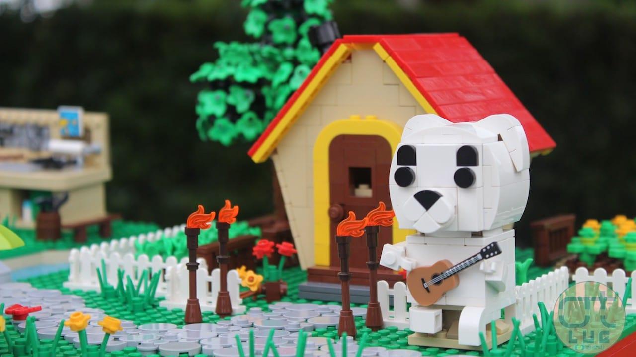 Animal Crossing si trasforma in un diorama Lego thumbnail