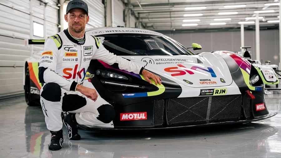 Jenson Button 2020
