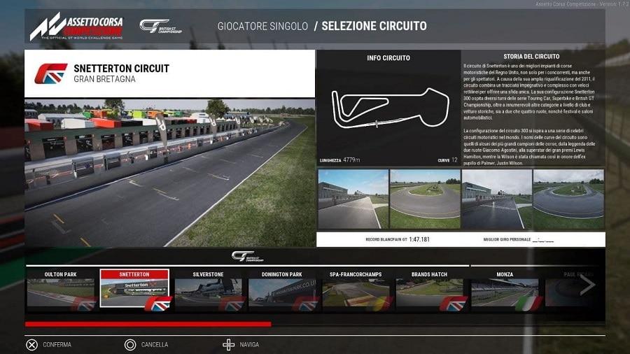Assetto Corsa Competizione British GT Piste