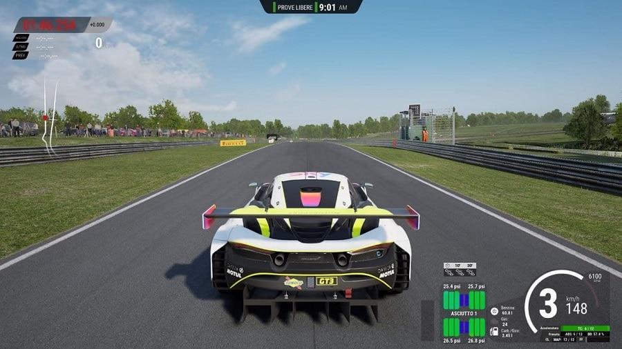 Assetto Corsa Competizione British GT gameplay