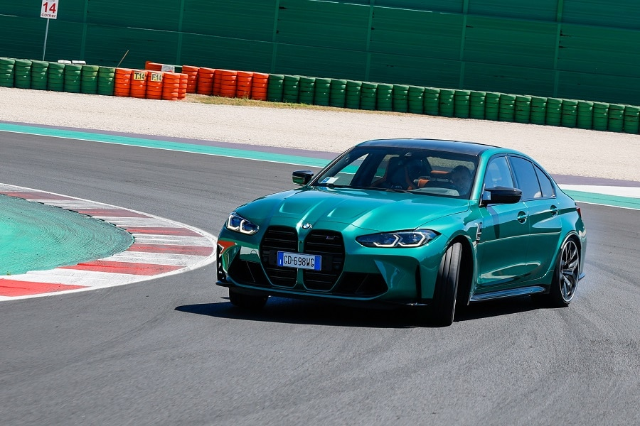 BMW-M3 in derapata