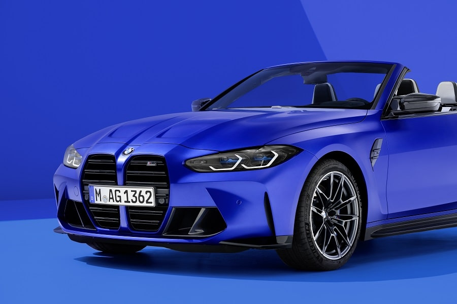 BMW M4 Competition Cabrio frontale