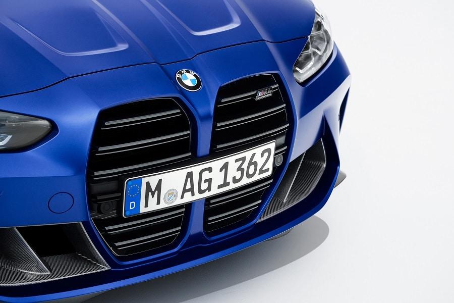 BMW M4 Competition Cabrio targhetta