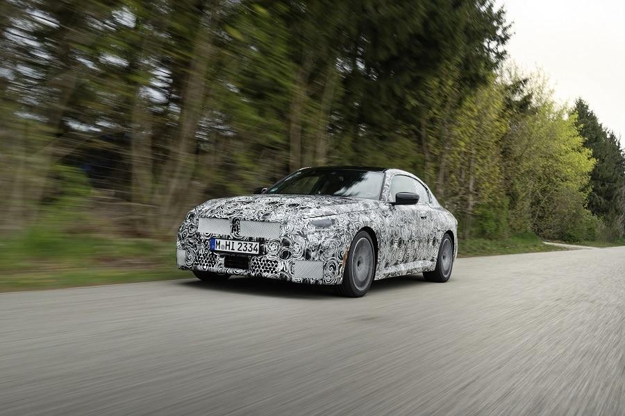 BMW Serie 2 Coupé curva