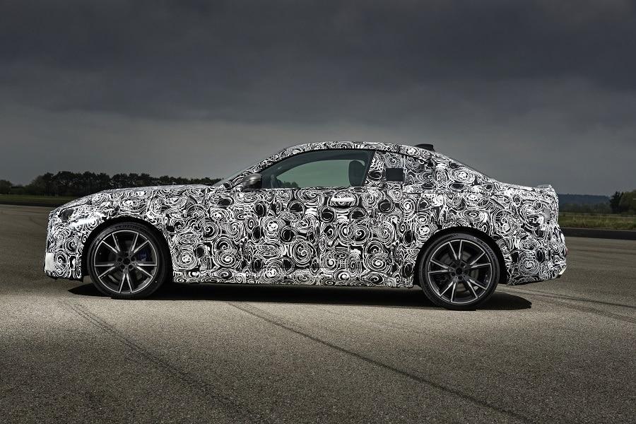 BMW Serie 2 Coupé laterale