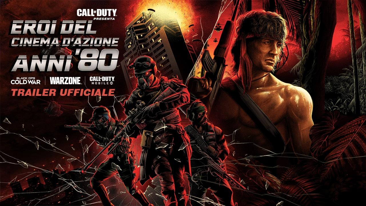 Call of Duty Warzone: il trailer degli eroi dei film d'azione anni 80 thumbnail