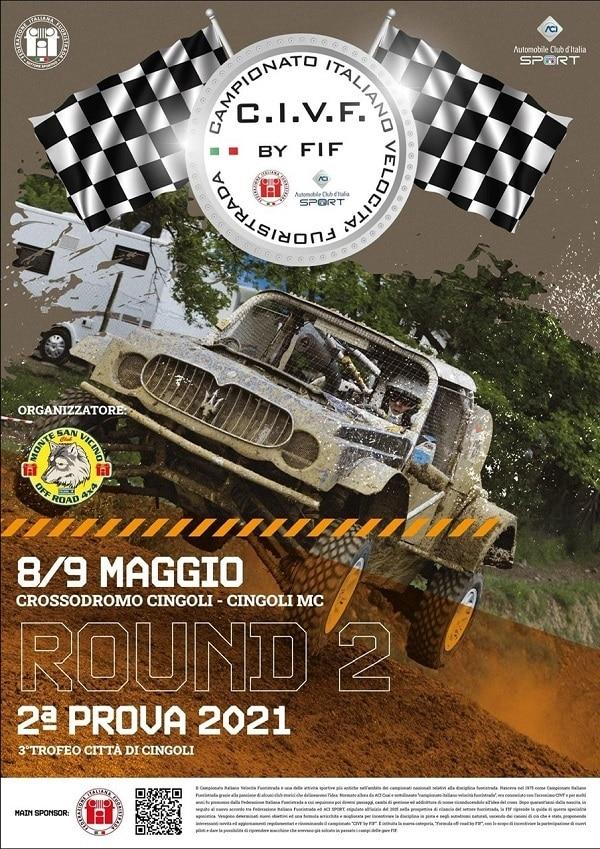 Campionato Velocità Fuoristrada Cingoli locandina