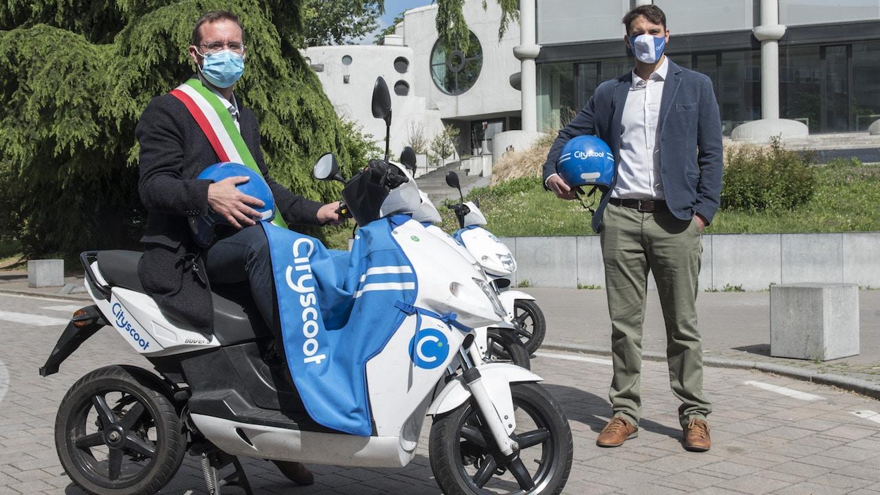Il servizio di scooter sharing elettrico di Cityscoot arriva a Segrate thumbnail