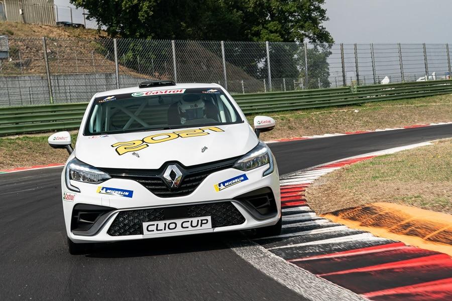 Clio Cup 2021 in pista