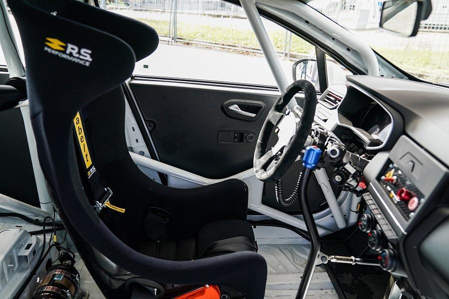 Clio Cup Cockpit