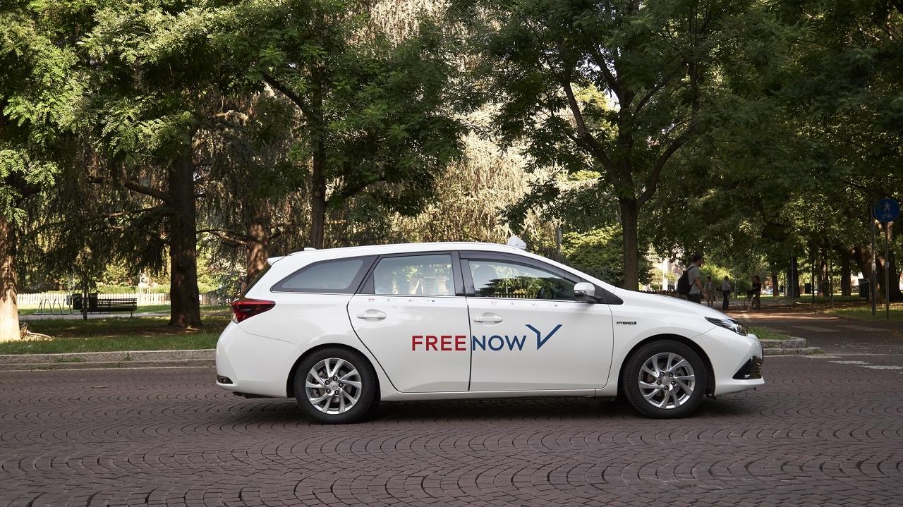 FREE NOW lancia l'opzione Taxi Go thumbnail